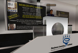 MDBIZEXPO CPE Session - Podium