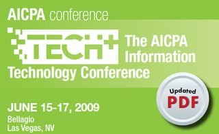 AICPA Tech+ Conf Brochure